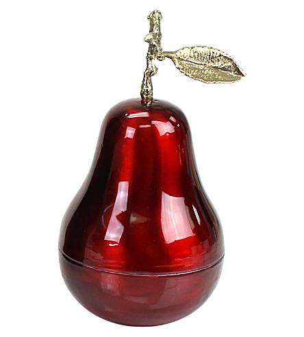 D.L. & CO La Poire Grande Rouge candle