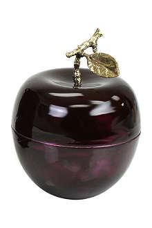 D.L. & CO La Pomme Grande Aubergine candle