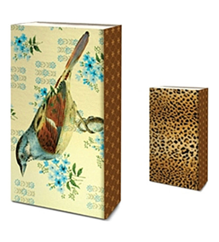 SKEEM Finch Leopard box of matches