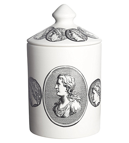 FORNASETTI Cammei bianco scented candle