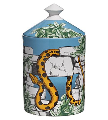 FORNASETTI Il Giardino Con Serpente scented candle 300g