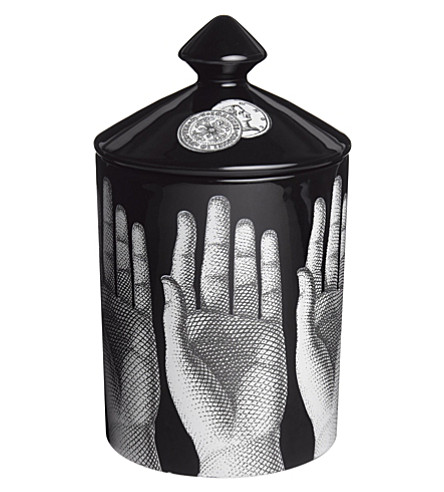 FORNASETTI Mani scented candle