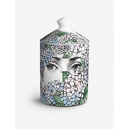 FORNASETTI Flora ortensia scented candle