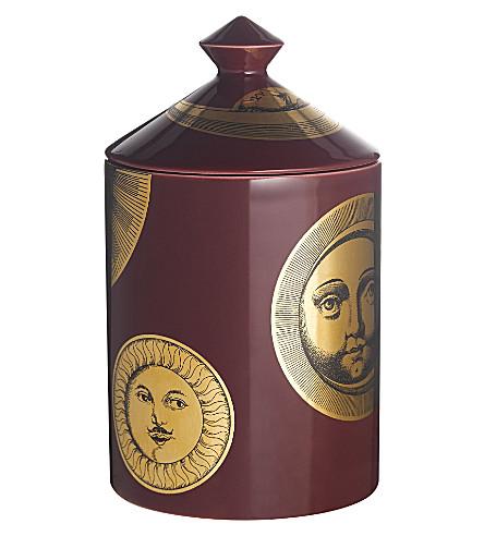 FORNASETTI Soli e Lune Amaranto scented candle 300g