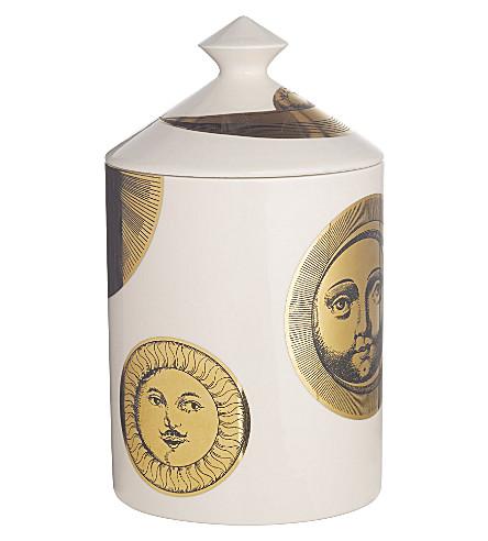 FORNASETTI Soli e Lune Avorio scented candle 300g
