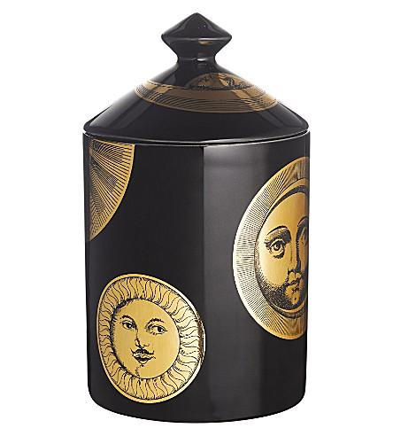 FORNASETTI Soli e Lune Nero scented candle 300g