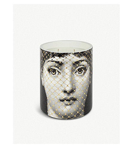FORNASETTI Golden Burlesque gold 900g candle