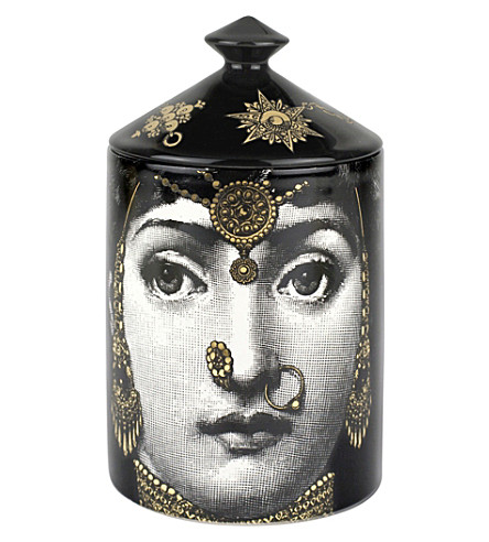 FORNASETTI L'Eclaireuse gold 300g candle