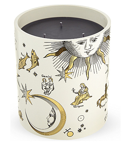 FORNASETTI Astronomici grande bougie candle 1.9kg