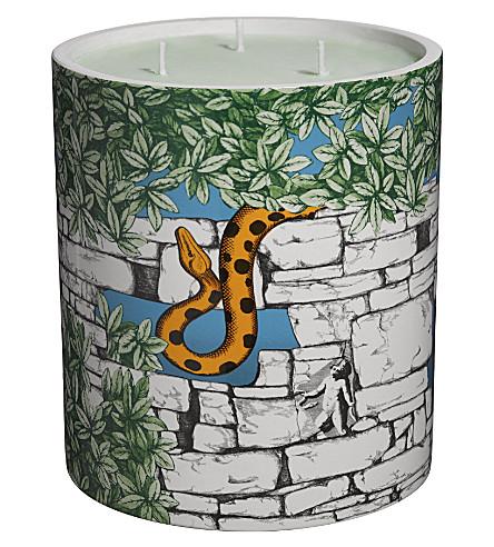 FORNASETTI Il Giardino Con Serpente scented candle 1900g