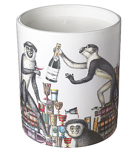 FORNASETTI Scimmie large candle