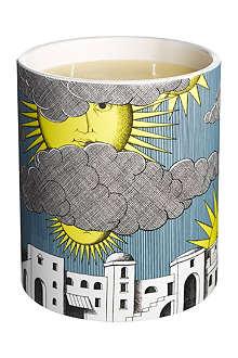 FORNASETTI Sole di capri large candle