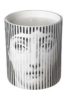 FORNASETTI Viso a Strisce large candle