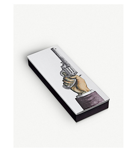 FORNASETTI Pistola incense box 80 sticks