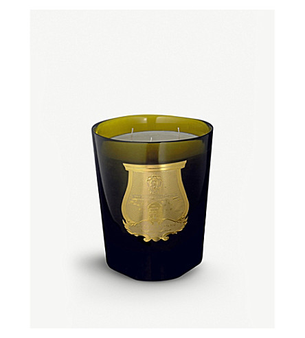 CIRE TRUDON La Grande Bougie in Roi Soleil candle