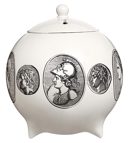 FORNASETTI Cammei bianco sphere