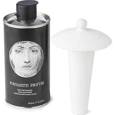 FORNASETTI Scent Sphere diffusing liquid and lid
