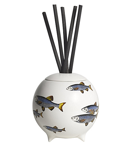 FORNASETTI Sardine Bianco scent-diffusing sphere