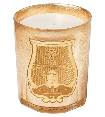 CIRE TRUDON Abd El Kader Christmas candle gold 270g