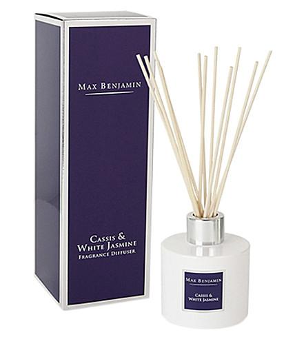 MAX BENJAMIN Cassis & white jasmine diffuser 150ml