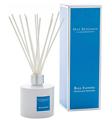 MAX BENJAMIN Blue Flowers diffuser 150ml