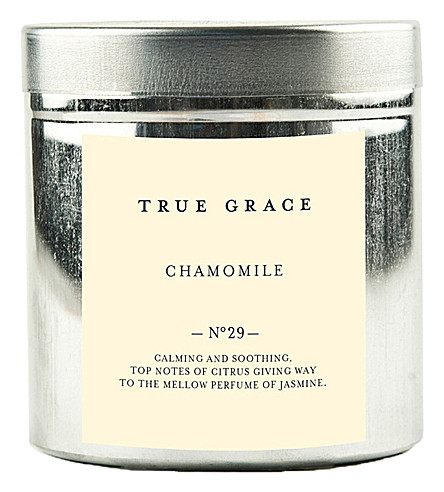 TRUE GRACE Walled Garden chamomile candle