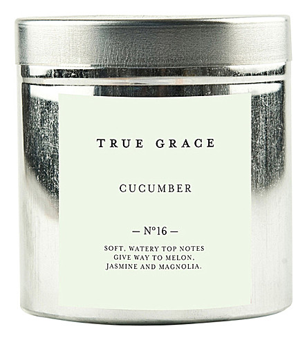 TRUE GRACE Walled Garden cucumber candle