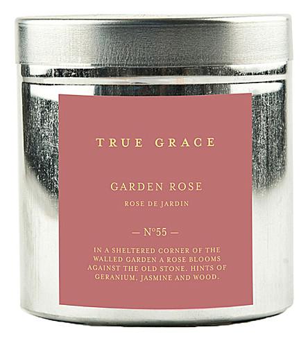 TRUE GRACE Walled Garden garden rose candle