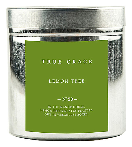 TRUE GRACE Walled gGrden lemon tree candle
