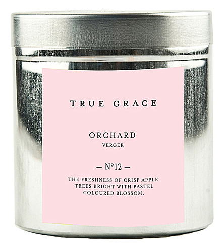TRUE GRACE Walled Garden orchard candle