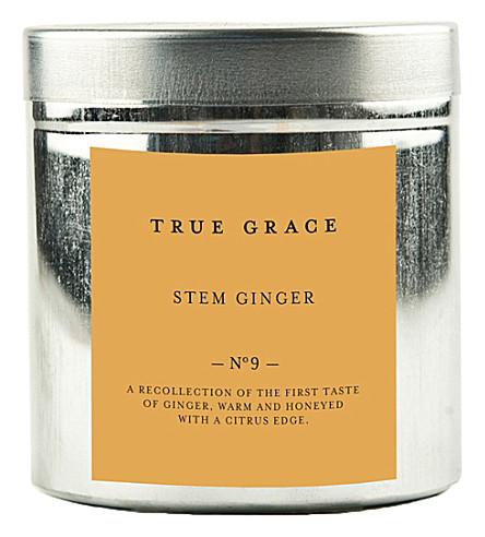 TRUE GRACE Walled Garden stem ginger candle