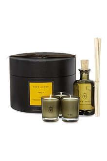 TRUE GRACE Amber Room Diffuser & Votive gift set