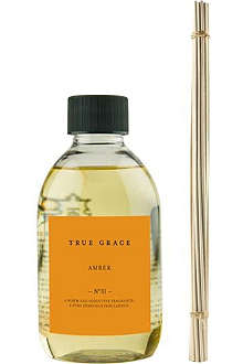 TRUE GRACE Amber reed diffuser refill 250ml