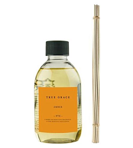 TRUE GRACE Amber reed diffuser refill 250ml