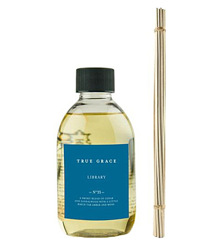 TRUE GRACE Library reed diffuser refill 250ml