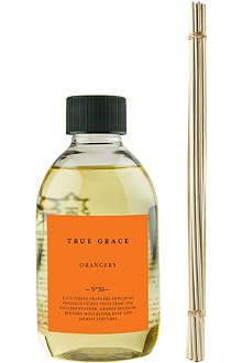 TRUE GRACE Orangery reed diffuser refill 250ml