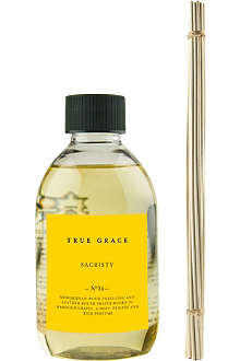 TRUE GRACE Sacristy reed diffuser refill 250ml