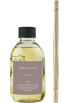 TRUE GRACE Velvet reed diffuser refill 250ml