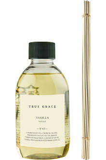 TRUE GRACE Vanilla reed diffuser refill 250ml