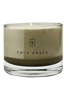 TRUE GRACE Blackcurrant leaves small bowl candle