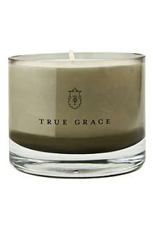 TRUE GRACE Moroccan rose small bowl candle
