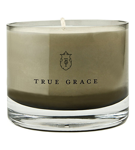 TRUE GRACE Black Lily small bowl candle