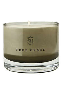 TRUE GRACE Velvet small bowl candle