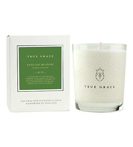TRUE GRACE Village English Meadow classic candle