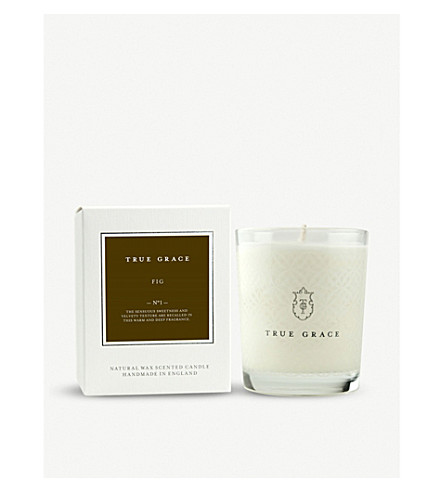 TRUE GRACE Village fig scented candle 190g