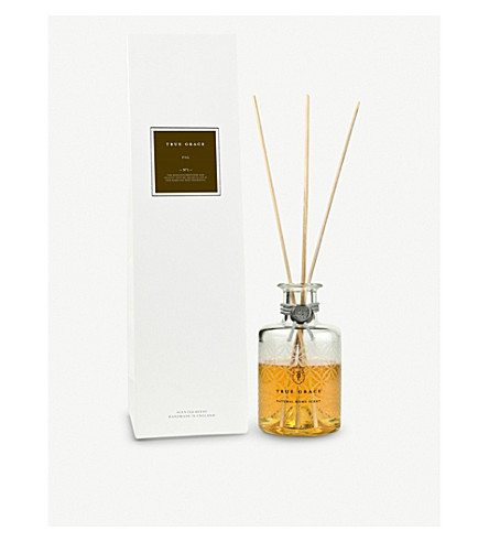 TRUE GRACE Green fig reed diffuser 200ml
