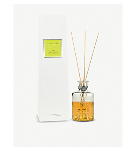 TRUE GRACE Village wild lime reed diffuser 200ml