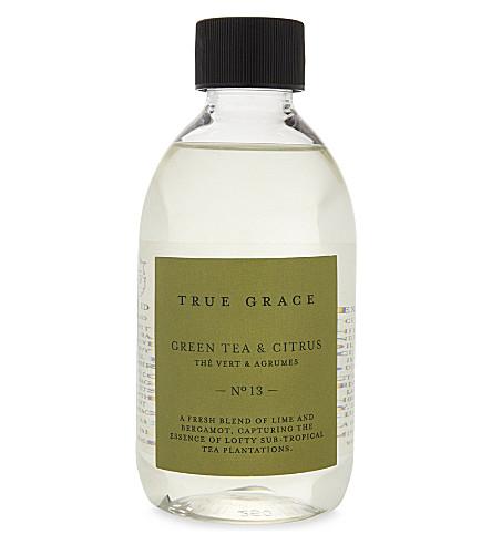 真 GRACE 绿色茶叶和柑橘香味芦苇填充250毫升