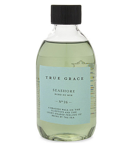 TRUE GRACE Seashore scented reeds refill 250ml