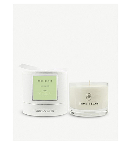 TRUE GRACE Village Wild Lime scented candle 225g